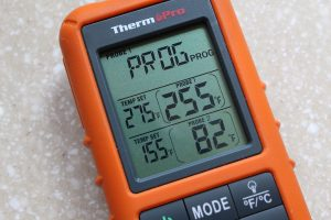 ThermoPro TP20 receiver close-up
