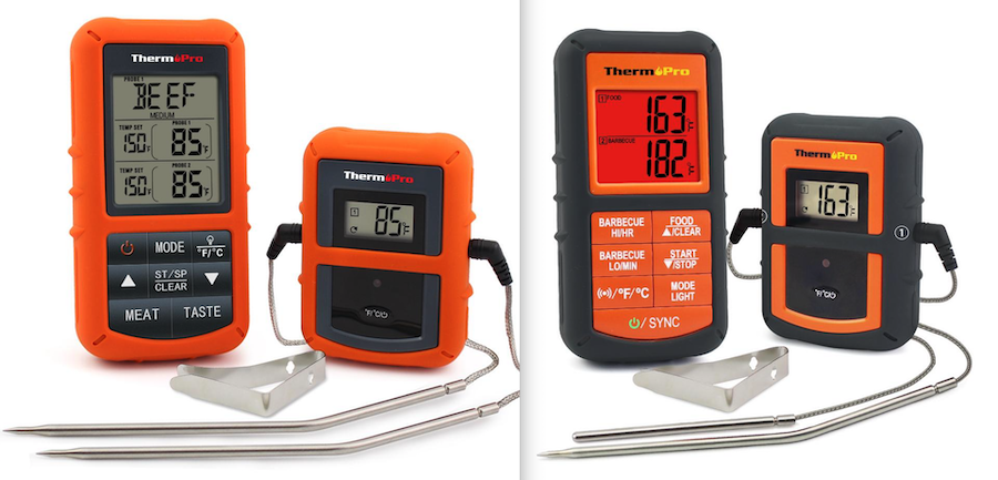 ThermoPro TP20 next to TP08