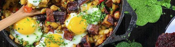 breakfast brisket hash
