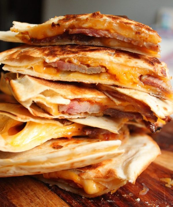 quick and easy 15 minute brisket quesadillas